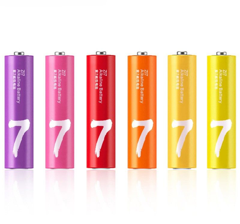 Батарейка Xiaomi Zi7 AAA Rainbow Battery (10шт)_0