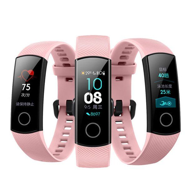 Браслет Honor Band 4 Pink_1